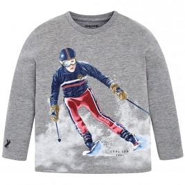 Παιδική Μπλούζα Mayoral 4006-080 Γκρι Αγόρι