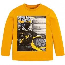 Παιδική Μπλούζα Mayoral 4026-074 Μουσταρδί Αγόρι