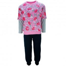 Παιδική Φορμα-Σετ Joyce 86406 Ροζ Εμπριμέ Κορίτσι