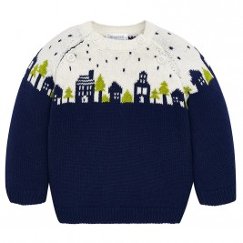 Βρεφική Μπλούζα Mayoral 2304-010 Μπλε Αγόρι
