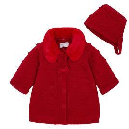 Βρεφικό Πανωφόρι Mayoral 2444-019 Κόκκινο Κορίτσι
