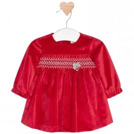 Βρεφικό Φόρεμα Mayoral 2850-030 Κόκκινο Κορίτσι