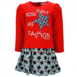 Παιδικό Φόρεμα Εβίτα 187206 Κόκκινο Κορίτσι
