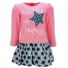 Παιδικό Φόρεμα Εβίτα 187206 Ροζ Κορίτσι