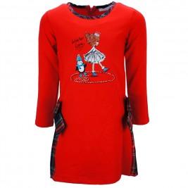 Παιδικό Φόρεμα Εβίτα 187277 Κόκκινο Κορίτσι