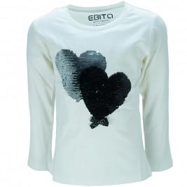 Παιδική Μπλούζα Εβίτα 187124 Εκρού Κορίτσι