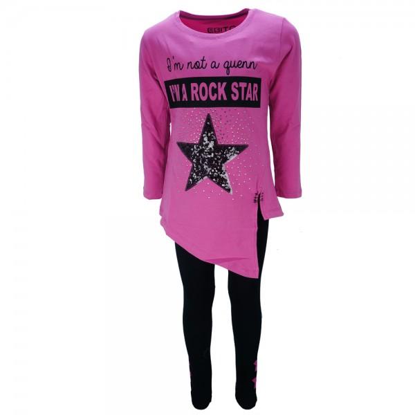 Παιδικό Σετ-Σύνολο Εβίτα 187114 Σκούρο Ροζ Κορίτσι c91e9c66545