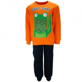 Παιδική Φόρμα-Σετ Joyce 85436 Πορτοκαλί Αγόρι
