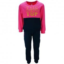 Παιδική Φορμα-Σετ Joyce 86403 Φούξια Μπλε Κορίτσι