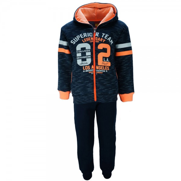 6255135efb6 Παιδική Φόρμα-Σετ Trax 35942 Μπλε Πορτοκαλί Αγόρι