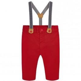 Βρεφικό Παντελόνι Mayoral 2524-062 Κόκκινο Αγόρι