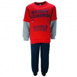 Παιδική Φόρμα-Σετ Joyce 85422 Κόκκινο Αγόρι