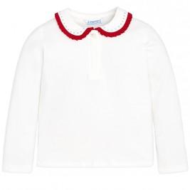 Παιδική Μπλούζα Mayoral 131-034 Κόκκινο Κορίτσι