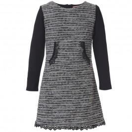 Παιδικό Φόρεμα Energiers 16-118228-7 Μαύρο Κορίτσι