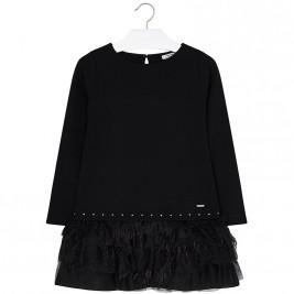 Παιδικό Φόρεμα Mayoral 7940-033 Μαύρο Κορίτσι