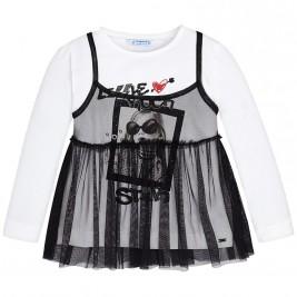 Παιδική Μπλούζα Mayoral 4052-038 Μαύρο Κορίτσι