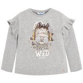 Παιδική Μπλούζα Mayoral 4054-023 Ασημί Κορίτσι