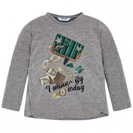 Παιδική Μπλούζα Mayoral 4056-024 Γκρι Κορίτσι