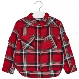 Παιδικό Πουκάμισο Mayoral 4126-010 Κόκκινο Κορίτσι