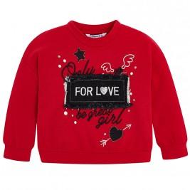 Παιδική Μπλούζα Mayoral 4454-086 Κόκκινο Κορίτσι