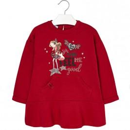 Παιδικό Φόρεμα Mayoral 4977-033 Κόκκινο Κορίτσι