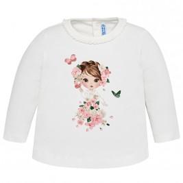 Βρεφική Μπλούζα Mayoral 2044-077 Ροζ Κορίτσι