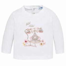 Βρεφική Μπλούζα Mayoral 2050-017 Ροζ Κορίτσι