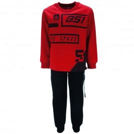 Παιδική Φόρμα-Σετ Joyce 85433 Κόκκινο Αγόρι