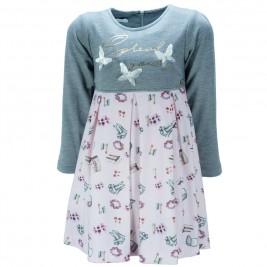 Παιδικό Φόρεμα Εβίτα 187279 Μελανζέ Κορίτσι