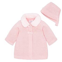 Βρεφικό Πανωφόρι Mayoral 2444-022 Ροζ Κορίτσι
