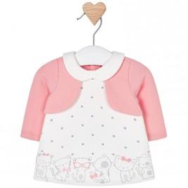 Βρεφικό Φόρεμα Mayoral 2818-041 Ροζ Κορίτσι