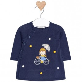 Βρεφικό Φόρεμα Mayoral 2842-075 Μπλε Κορίτσι