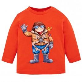 Βρεφική Μπλούζα Mayoral 2034-062 Πορτοκαλί Αγόρι