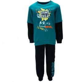 Παιδική Φόρμα-Σετ Joyce 85434 Πράσινο Αγόρι