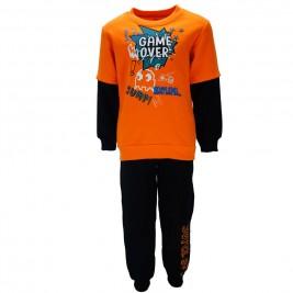 Παιδική Φόρμα-Σετ Joyce 85434 Πορτοκαλί Αγόρι