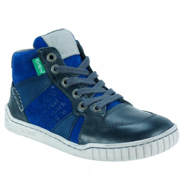 6d2c56ade01 Παιδικό Μποτάκι Kickers 572862-30-10.B Μπλε Αγόρι
