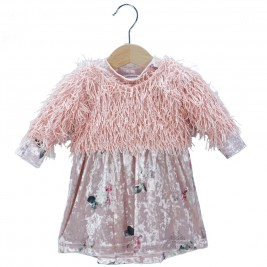 Βρεφικό Φόρεμα NCollege 39-8753 Σομόν Κορίτσι