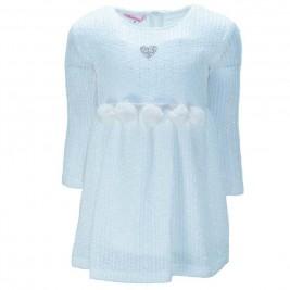 Παιδικό Φόρεμα NCollege 39-758 Εκρού Κορίτσι