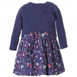 Βρεφικό Φόρεμα Energiers 14-118407-7 Μπλε Κορίτσι