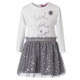 Βρεφικό Φόρεμα Energiers 14-118400-7 Ανθρακί Κορίτσι