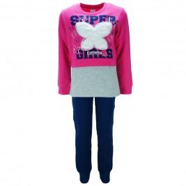 Παιδική Φόρμα-Σετ Trax 35612 Φούξια Κορίτσι