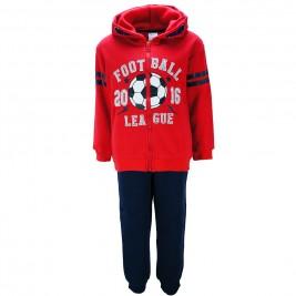 Παιδική Φόρμα-Σετ NCollege 39-833 Κόκκινο Αγόρι
