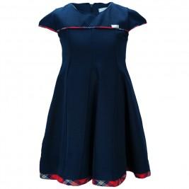 Παιδικό Φόρεμα M&B 9115 Μπλε Κορίτσι