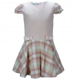 Παιδικό Φόρεμα M&B 9121 Ροζ Κορίτσι