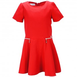 Παιδικό Φόρεμα M&B 9123 Κόκκινο Κορίτσι