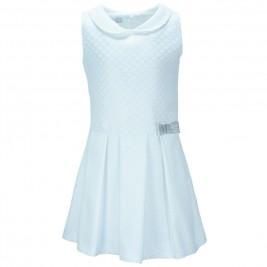 Παιδικό Φόρεμα M&B 9149 Λευκό Κορίτσι