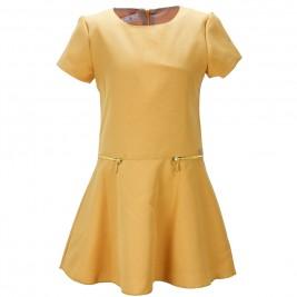 Παιδικό Φόρεμα M&B 9278 Μουσταρδί Κορίτσι