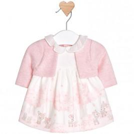 Βρεφικό Φόρεμα Mayoral 18-02806-074 Ροζ Κορίτσι