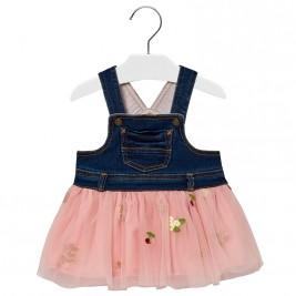 Βρεφικό Φόρεμα Mayoral 18-02906-033 Ροζ Κορίτσι