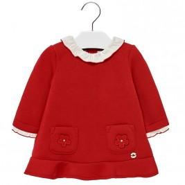 Βρεφικό Φόρεμα Mayoral 18-02940-019 Κόκκινο Κορίτσι